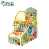 Kapsel-Spielzeug-Kindern Basketball-Säulengang-Spiel-Maschine erhalten