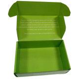 Impresión reciclable de la característica y el barnizar que maneja el rectángulo acanalado impreso aduana del anuncio publicitario
