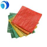 Saco de empacotamento tecido PP do plástico