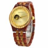 Custom высокое качество бамбук посмотреть свой собственный логотип золотые часы из дерева