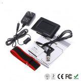 Монитор LCD 2.5 дюймов с портативной планкой нося запястья руки, перезаряжаемые батареей