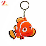 Moda Customed Cartoon PVC Keychain / Plastic Keychain