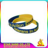 Migliori Wristbands all'ingrosso del silicone di prezzi, braccialetti su ordinazione Personalisable del silicone del camuffamento