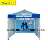 عامة يفرقع علامة تجاريّة فوق ظلة خيمة فسطاط خيمة