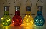 Hot Sale Nouveau design pendaison solaire Edsion boule de lumière solaire lumière pendaison chaîne