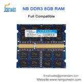 ラップトップのための中国の金製造者完全な互換性のあるDDR3 8GBのRAM