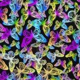 Pellicola idrografica no. I599ya713b della farfalla variopinta del bicromato di potassio