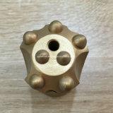 34mm 12 Grad spitzten sich die 7 Zahn-Tasten-Bit für Felsen-Bohrung zu