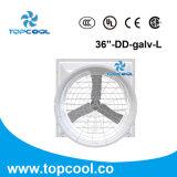 """Système de refroidissement de ferme de poulet du ventilateur 36 d'entraînement direct de fibre de verre """""""