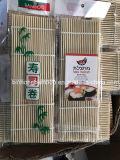 Плоские суши бамбук динамического коврик белого цвета