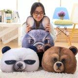 L'animal de chat de panda badine le jouet mou de peluche de poupée d'enfants de bébé