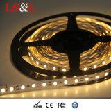 Свет прокладки 60LEDs 3528 SMD СИД на метр, поставка фабрики 24W/Roll