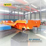 Indústria de Papel Trackless Vagão de transferência no piso de cimento