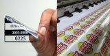 Película impresa aduana de la ventana de la etiqueta engomada del vinilo de las etiquetas