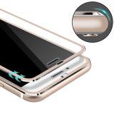 3Dは完全なカバーiPhone 6/7/8/Xのためのチタニウムの合金の携帯電話の強くされた保護フィルムを曲げた