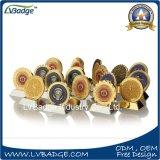 特別な端が付いている二重側面の記念品の硬貨