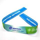 Wristband su ordinazione professionale del tessuto RFID di festival con la casella