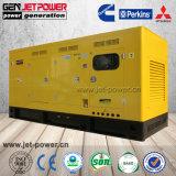 Heavy Duty 180KW motor Diesel de 225kVA insonorizado generador eléctrico de gasóleo