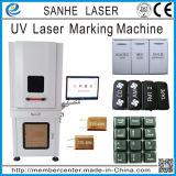 3W UV/ Marcado láser de fibra de vidrio máquina de grabado y grabado
