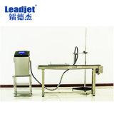 Leadjet 4 líneas de inyección de tinta continua Impresora Impresora de inyección de tinta de pigmento blanco para cable