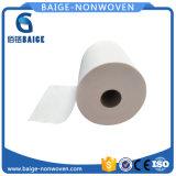 Tessuto non tessuto di Spunlace del cotone naturale di 100% per i Wipes del bambino