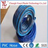 Le bleu fibre souple flexible en PVC renforcé