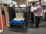高品質の板紙表紙のSemi-Atuomaticの自動フルートの熱薄板になる機械