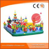遊園地(T6-002)のための膨脹可能な跳躍のMoonwalkのおもちゃの跳躍の城