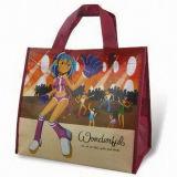 짠것이 아닌 PP Woven 190t 210t 210d Polyester Cotton Jute Hot Selling High Quality New Design Fashion Promotional Multi Bottle Carrier Tote Foldable Shopping Bag