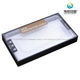Kundenspezifischer erstklassiger das ausgeglichenes Glas-Bildschirm-Schoner-Papierverpacken, rastert den schützenden Film, der Plastikkasten verpackt