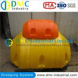 Galleggiante dell'HDPE per il sistema di dragaggio di progetto
