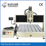 Corte de escultura em madeira CNC 6090 3D 4 Máquina de eixo