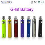 직업적인 Seego 주스 액체 펜 작풍 전자 담배는 건전지를 G 명중했다