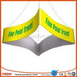 De nieuwe Duidelijke Activiteit gebruikte de Lucht Hangende Banner van het Plafond