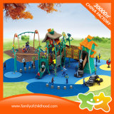 판매를 위한 비뚤어지는 집 야외 위락 공원 아이들 장난감 플라스틱 활주