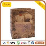 Mode Pattern Cadeau petit ours sac de papier kraft
