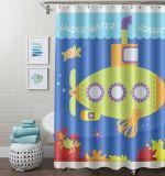 China de alta calidad impresa suministros de fábrica de cortinas de ducha EVA