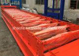 قطاع جانبيّ [دروينغ كلور] فولاذ سقف صفح يجعل لفة يشكّل آلة