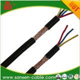 PVC는 PVC에 의하여 넣어진 보호한 LSZH 유연한 케이블 조종 케이블을 모욕했다