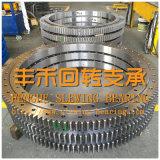 ギヤが付いている工学機械装置で、使用される高品質の回転ベアリング