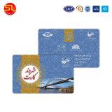 Échantillon gratuit de la carte de clés de l'hôtel en PVC avec des puces RFID