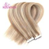 卸し売りブラジルの毛のバージンの人間のRemyテープ毛の拡張