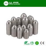 M8 vis de réglage personnalisée par M14 de point de bille de l'acier inoxydable SS304 SS316