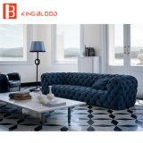 Софа Nubuck самомоднейшей роскошной итальянской софы Tufted кожаный для мебели гостиной
