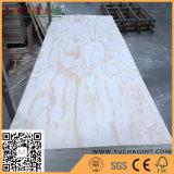 Prix de gros de contre-plaqué de pin de contre-plaqué décoratif de la Chine