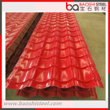 Chapa de aço revestida da cor ondulada PPGI