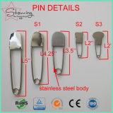 Hohes Quanlity 2 Zoll-Edelstahl-Fischschwanz-Kopf-Wäscherei-Sicherungsstift für Markierung