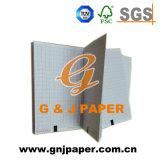 Papier d'enregistrement médical de tableau de réseau vert avec le faisceau de papier