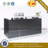 Moderner hoher glatter Büro-Tisch-weißer Salon-Empfang-Schreibtisch (HX-5N227)