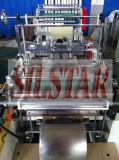 Wegwerfplastikhandschuh, der Maschine herstellt